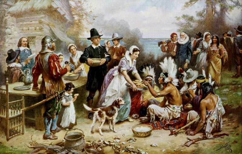 Giving Thanks in Divided Times by Amy McNeil